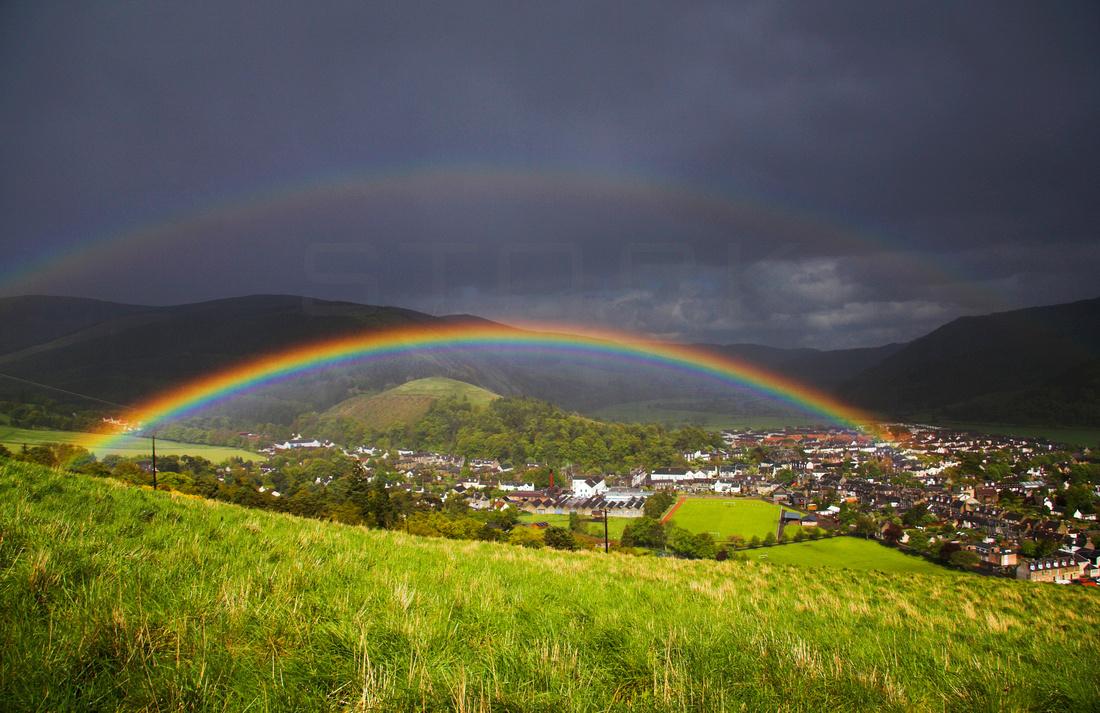 Double Rainbow over Innerleithen