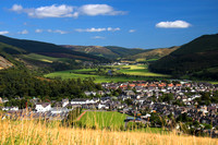 Innerleithen from Caerlee Hill_e