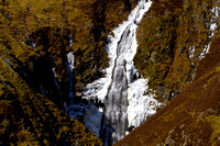 Grey Mare's Tail on Ice
