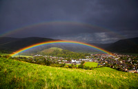 Double Rainbow over Innerleithen